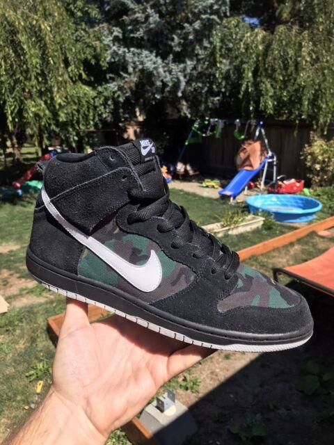 Nike Sb Dunk High Pro Camo Size 11.5 No Box