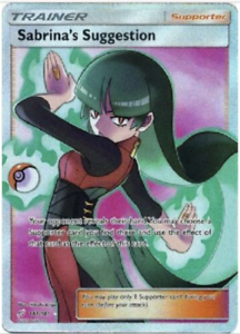178//181 x1 Morgan Ultra Rare Pokemon SM9 Team Up M//NM Full Art
