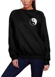 Peace Sign Pocket Logo yin yang 90s hippy insta love cute Womens T-Shirt
