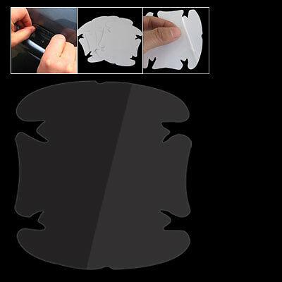 4X manija de puerta de coche película protector arañazos Transparente