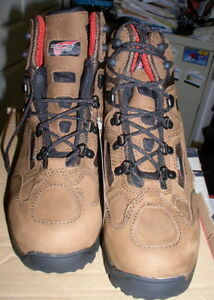 "54b050c7e2b Details about NIB RED WING 6674 Size 9 E Aluminum Toe Men's 6"" Hiker Work  Boots RETAIL $219"