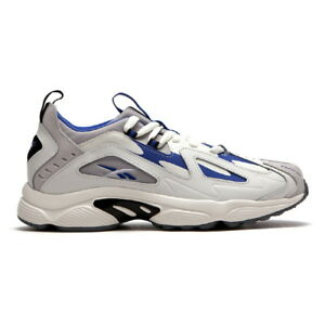 51187582592 New Mens Reebok DMX Series 1200 GREY  COBALT   BLACK DV9226 US 7 ...