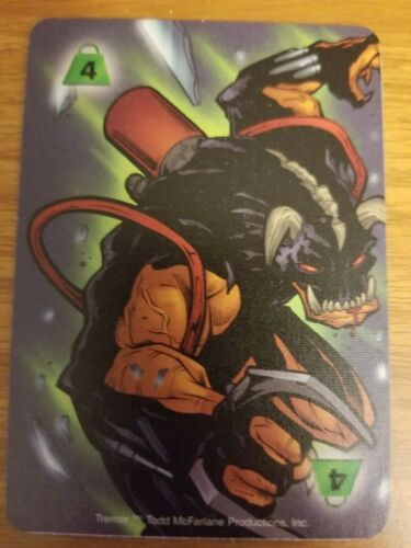 Marvel Overpower Image Strength 4 Tremor Power Card NM-Mint