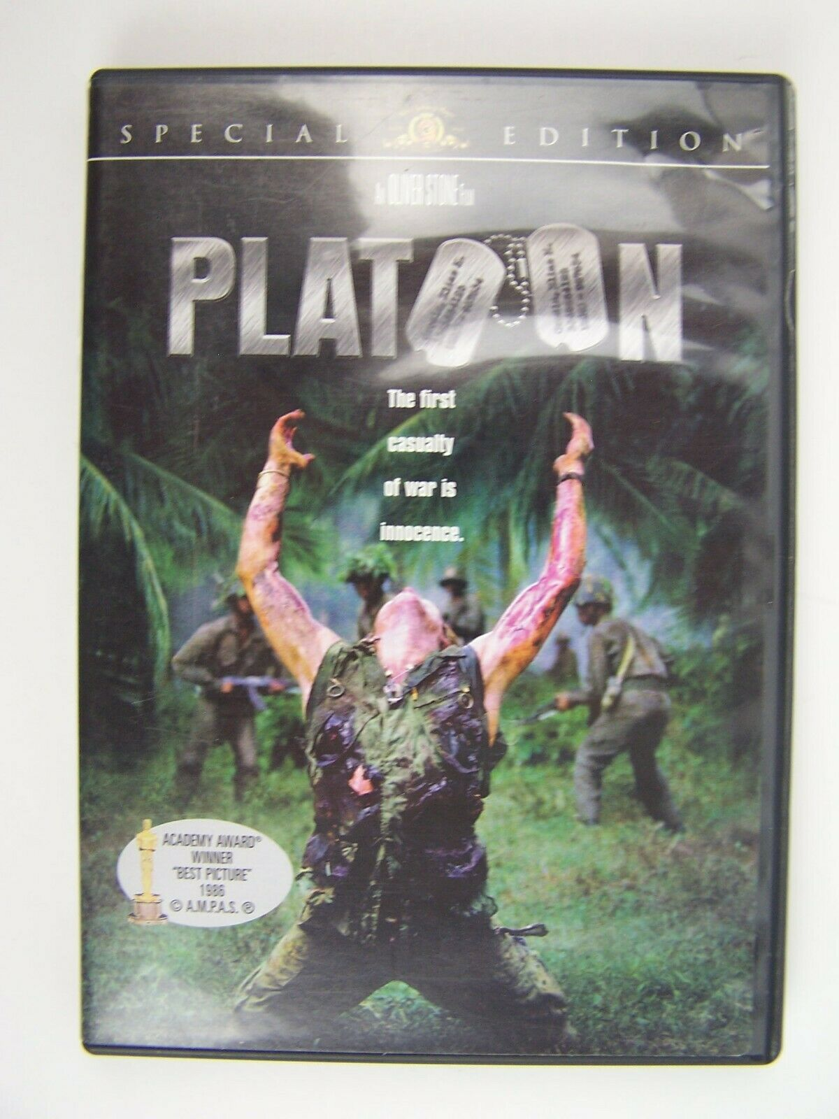 Platoon Special Edition DVD 4010232008336