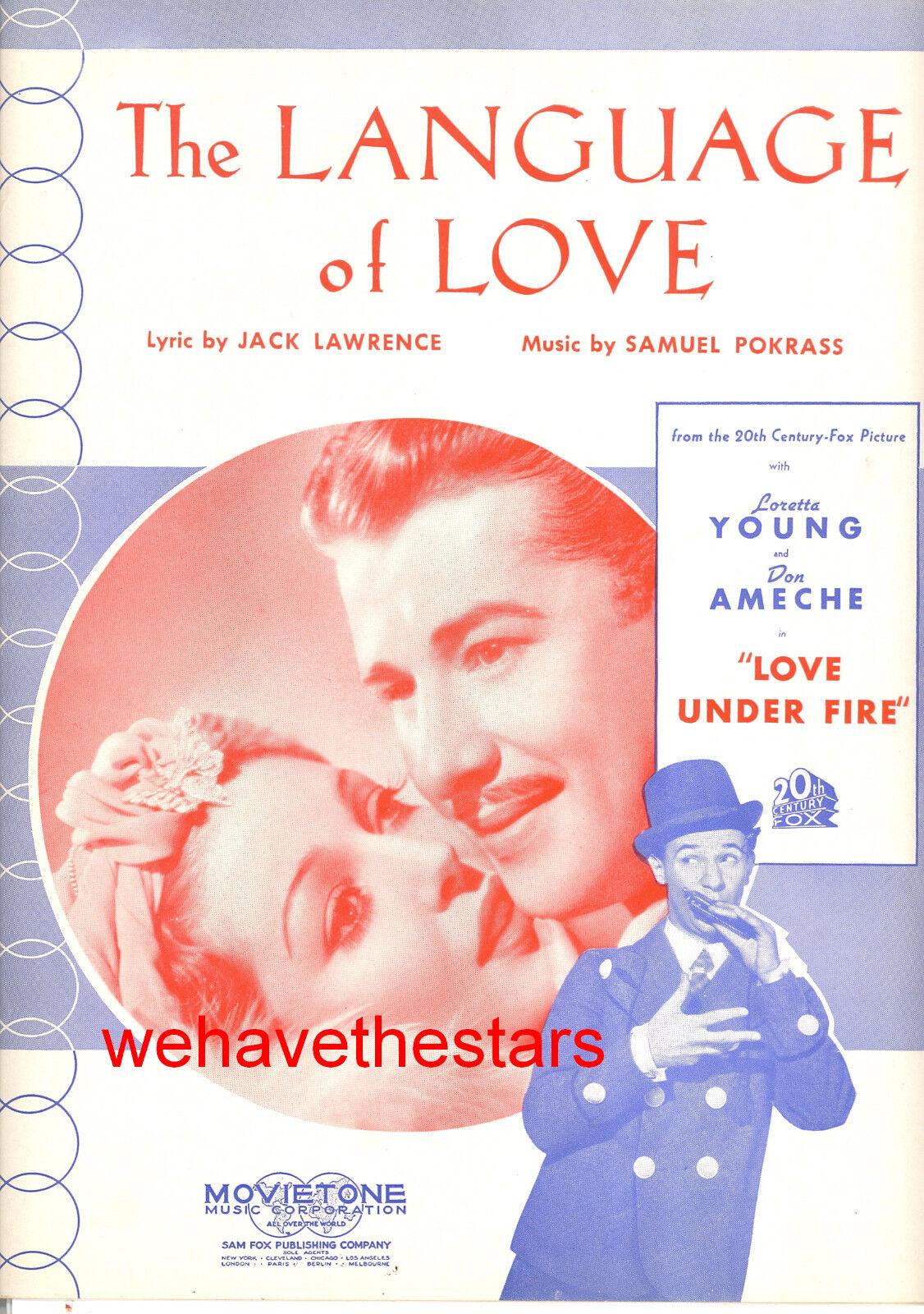 LOVE UNDER FIRE Sheet Music