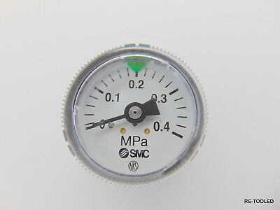 SMC MPa PSI AIR PRESSURE VACUUM GAUGE 0- 4 / 1-3/4