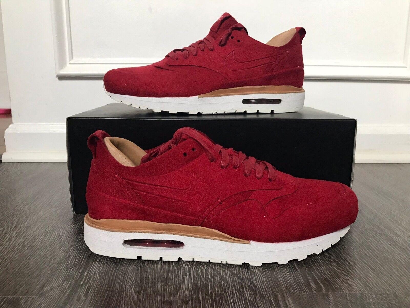 028a84077eb Men s Nike Nike Nike Nikelab Air Max 1 Royal Running Shoes 10.5 Gym Red  847671-