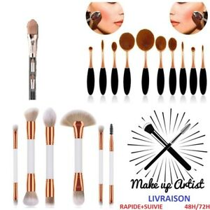 Kits-Pinceaux-De-Maquillage-Brush-Visage