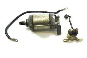 Details about 2014 Polaris Sportsman 400 4x4 Starter Motor with Solenoid  Relay and Cables