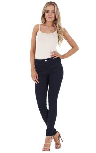 Mesdames autographe qualité skinny jeans pour femme slim denim coton stretch
