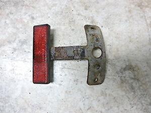 99 moto guzzi v11 v 11 1100 v1100 bassa rear back fender red reflector