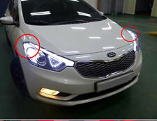 Head Lamp Light 2Way LED  Front Reflector For 2013~2015+ Kia K3 All New Forte