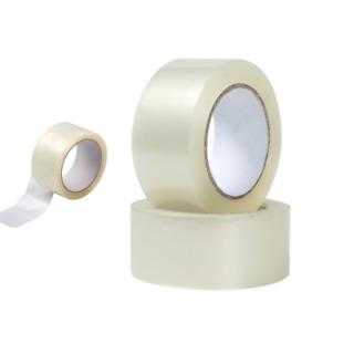 6er Pack Paketklebeband Packband in braun oder transparent Transparent Packtape