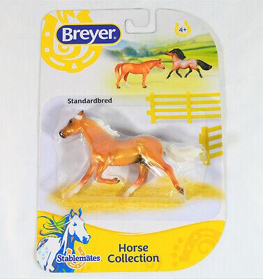 Breyer NIP Standardbred 6900 Palomino 2018 Pacer NEW Stablemate Model Horse