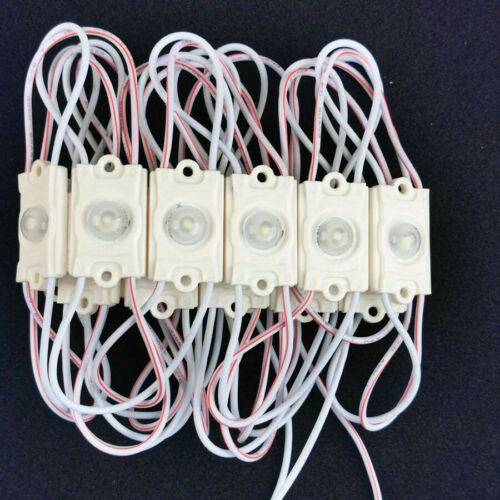 LED Module SMD 2835 Cool Warm White Sign Design ABS DC 12V Waterproof Light Lamp