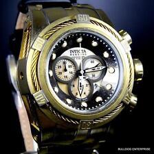 Invicta Reserve Bolt Zeus Industrial Distressed Gold Tone MOP Swiss Watch New