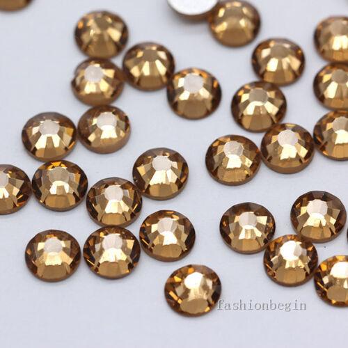 144//1440p ss20 color Crystal Flatback Rhinestone Nail Art Decoration beads craft