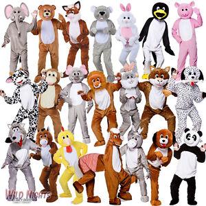 Animal-Mascot-Costumes-Big-Head-Zoo-Woodland-Jungle-Farmyard-Fancy-Dress