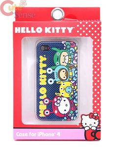 Hello-Kitty-Apple-iPhone-4-i-Phone-4S-Case-Hard-Case-Cover-Monster-Friends