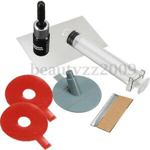 New-Auto-Car-Glass-Windscreen-Windshield-For-Chip-Crack-Bullseye-DIY-Repair-Kit