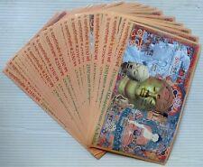India ONE HUNDRED Miniature Sheet MS 2007 Buddha MNH (100)