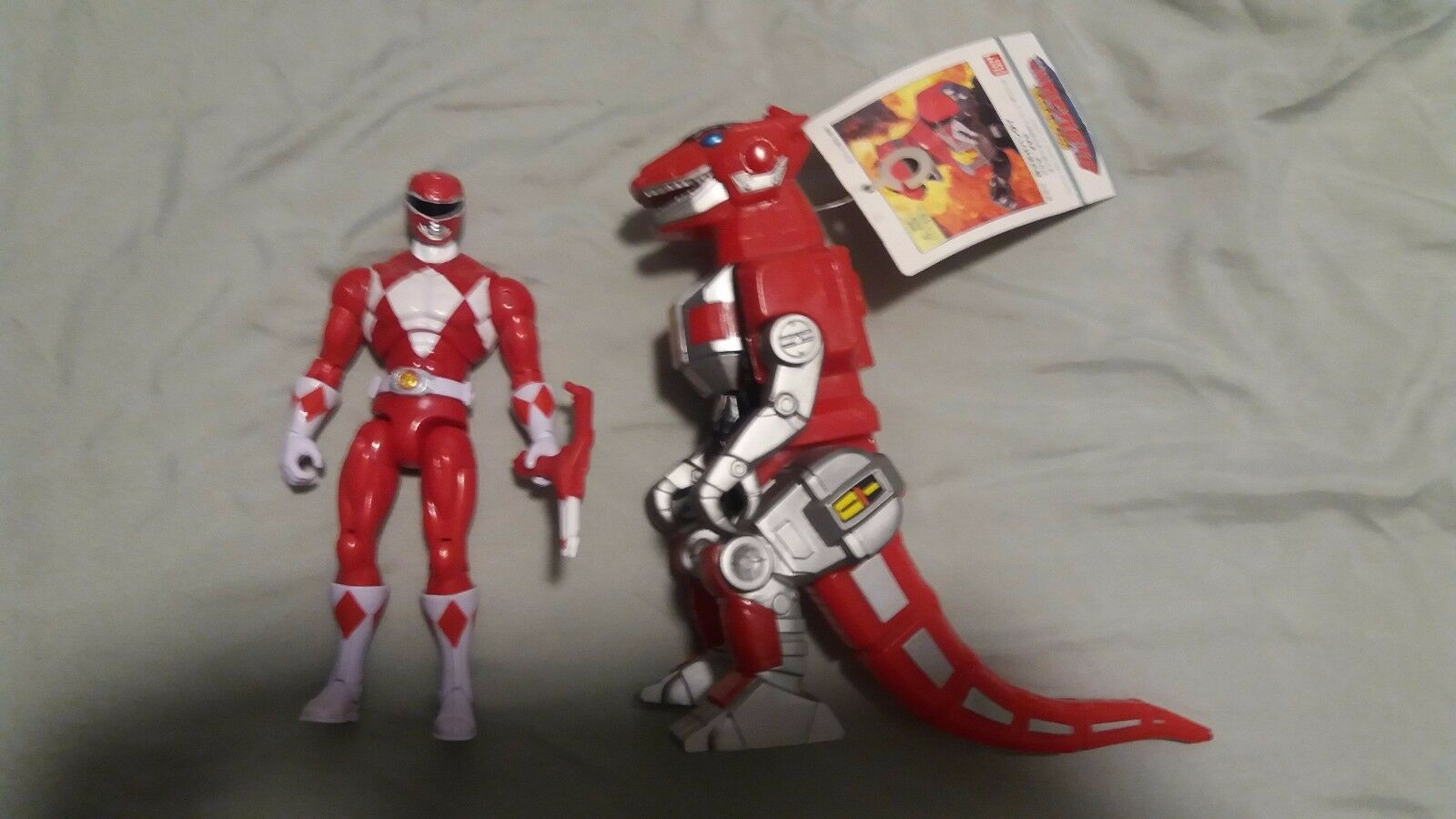 Mighty Morphin Power Power Power Rangers ZyuRanger rot Ranger
