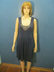 XL-navy-blue-soft-pleated-rhinestone-bust-dress-by-LUCY-amp-LAUREL