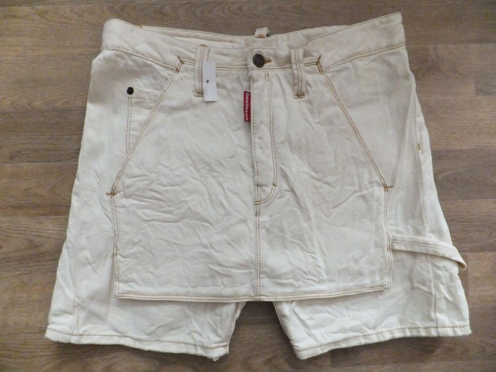 100% Original DSQUArot d2 Shorts Größe 42 (D 38)  Nouveau