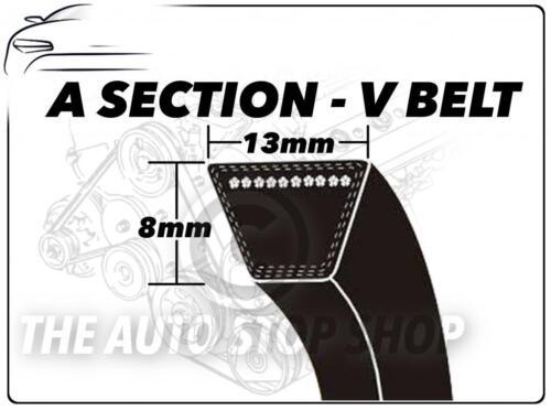 Una sección V Belt-A32-longitud 813 mm Vee Auxiliar Disco Ventilador cinturón 13mm X 8 Mm
