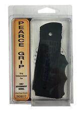 Pearce Grip Rubber Finger Groove Insert for Colt Government Model 1911 & Variant