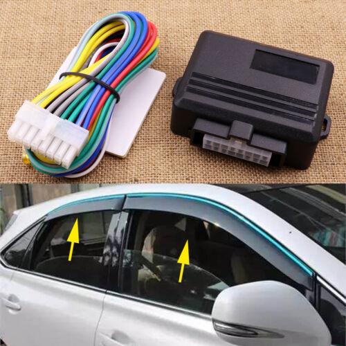 Universal 12V 4 Door Car Auto Power Window Roll Up Closer Power Module Kit