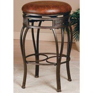 Hillsdale Furniture Montello 30 Backless Swivel Bar Stool Set Of 3