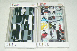 Lot-de-2-coques-de-protection-ELLE-etui-cover-fashion-pour-SAMSUNG-GALAXY-S-4