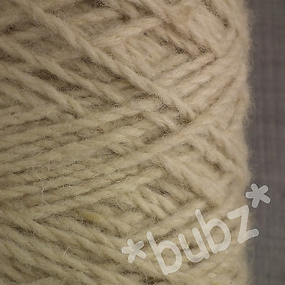 Berber Rug Wool Natural 450g Cone Latch