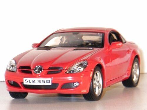 WELLY 1:18 red MB Mercedes Benz SLK 350