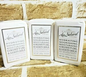 Castelbel-Porto-Coconut-amp-Goat-039-s-Milk-Luxury-Soap-Bar-10-5oz-Portugal-Made