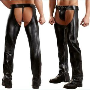 Image Is Loading Men 039 S Exotic Sexy Latex Pants Fashion