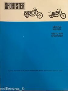 harley sportster service manual 1959 to 1969 xl xlh xlch wiring rh ebay com sportster service manual 2018 on torrent sportster service manual 2016