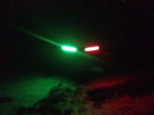 Jet Ski Red Green Bow Led 1 Fishing Boat Navigation Light