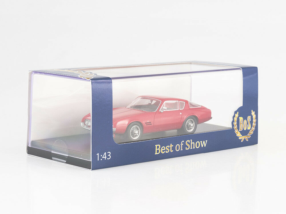 Scale model 1 43 43 43 Ghia (Basis Fiat) 230 S, red 165864