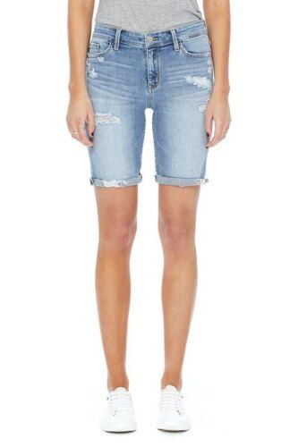 182129 Judy Blue Destroyed Bermuda  Denim Short Jean S,M,L,XL,1XL,2XL,3XL