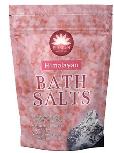 Careful Natural Himalayan Pink Rock Salts Elysium Pure Crystal Grade Bath Spa Soak As Effectively As A Fairy Does Health & Beauty Bath Salts