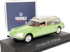 Citroen DS23 Pallas Limousine Weiss 1973 1//43 Norev Modell Auto mit oder ohne ..