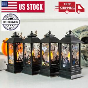 Portable-Halloween-Vintage-Lantern-Party-Hanging-Decor-LED-Light-Lamp-Nightlight