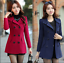 New-women-039-s-Korean-Slim-double-breasted-wool-coat-and-long-sections-coats-jacket thumbnail 6