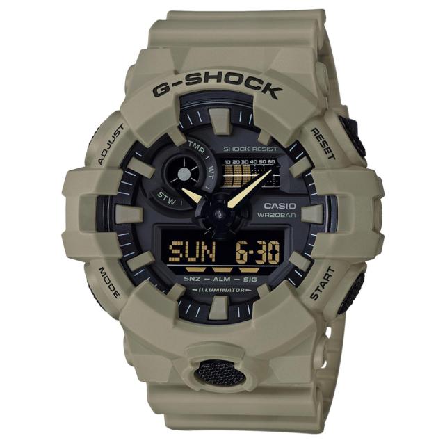 Casio G-Shock GA-700UC-5A Ana Digi World Time Watch