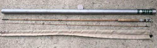 Vintage Fly Fishing Rod Bambou Orvis Impregnated battenkill 8\' & Original Tube
