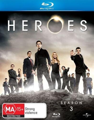 1 of 1 - Heroes : Season 3 (Blu-ray, 2009, 5-Disc Set)