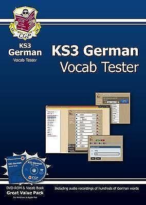 KS3 German Vocab Tester (Paperback book, 2013)