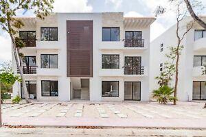 Departamento con terraza ideal para renta a largo plazo o renta vacacional  en Tulum, Quintana Roo